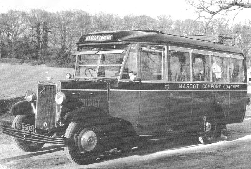 In 1931 Taylor's supplied a 20 seater All-weather Sunsaloon Commer Invader Coach to Leonard Votier of Mascot Coaches in Norwich. The price was ?797.